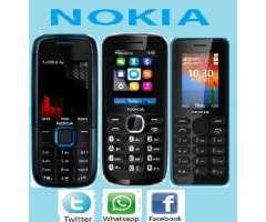 Nokia dual con redes sociales camara mp3 nuevos
