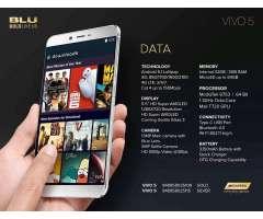 Celular importado Blu Vivo dorado 5 10/10 en caja 8 nucleos 3g ram y 32 almacenamiento full