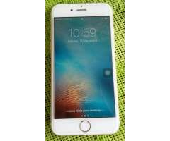 Vendo Un iPhone 6s de 64gb Color Dorado