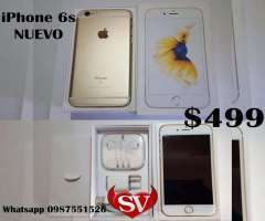 IPHONE 6S gold NUEVO