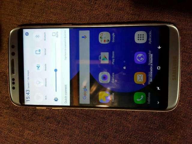 Samsung S8 Edge como nuevo funcionamiento 10/10