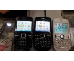 Vendo 2 Nokias C3 Y Un Nokia 201