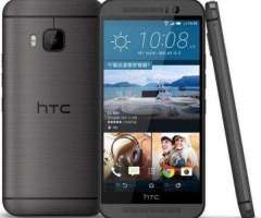 HTC ONE M9, 32GB INT,3GB RAM,20.7 MPX,ORIGINALES,GARANTÍA,CÓMO NUEVOS!