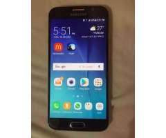 Vendo Samsung S6 Azul