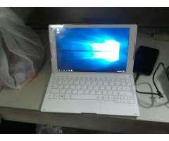 Vendo Laptop Alcatel Window Intel de 10
