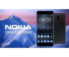 NOKIA 6 NUEVOS ORIGINALES 64GB 4 DE RAM 16MPX 5.5 PULGADAS HD