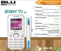 Venta Celular Blu Dual Sim Jenny Tv 2.8