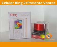 Celular Ring lite 2 MAS parlante vantec CON BLUETOOTH