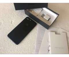 iPhone 7 Plus 256Gb Jet Black en Caja