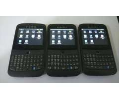 Celulares Alcatel OT916 ideal para whatsapp, facebook, etc.. Gratis Cargador