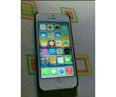 Vendo iPhone 5 de 16gb Libre de Todo Col