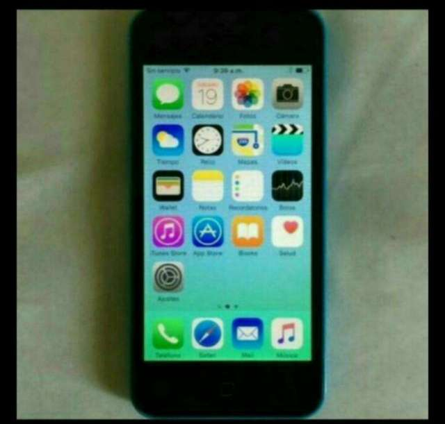 Vendo iPhone 5c de 32gb para Usarlo Como