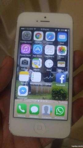 Vendo iPhone 5 de 16gb Libre para Cualqu