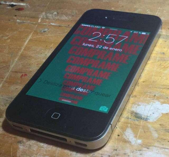 Vendo iPhone 4s Libre de Fabrica Libre P
