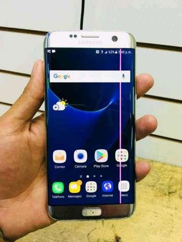 Samsung S7 Edge con Linea Rosa
