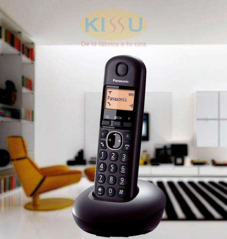 TELEFONO INALAMBRICO PANASONIC KXTGB210 1 BASE NEGRO GARANTIA CON NUESTRA FACTURA