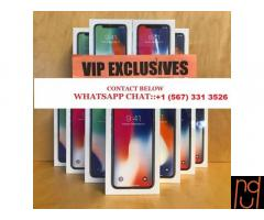 Brand New Apple iPhone X WhatsApp:- +15673313526