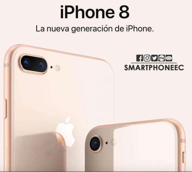 iPhone 8   iPhone 8plus 64gb y 256gb Obsequio / Sellados / Garantia