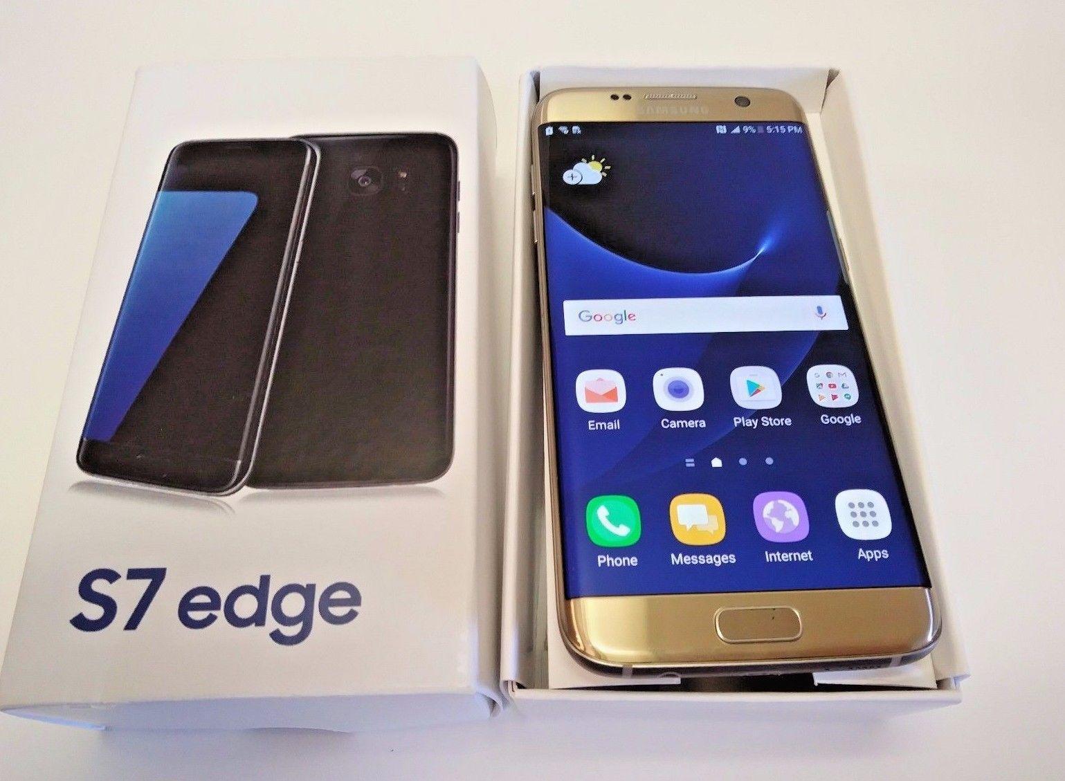 New Samsung S7 Más 64gb Negro