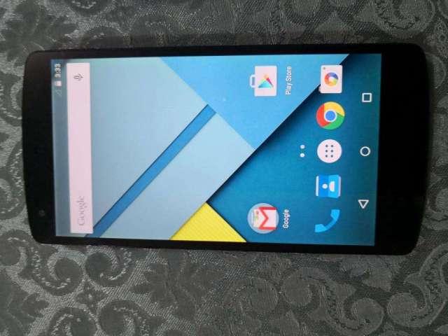 NEXUS 5 de LG LTE 4G 16Gb RAM 2Gb libre $90, no cambios