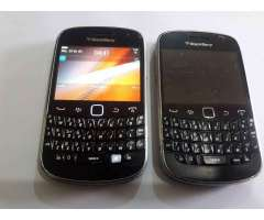 Dos Blackberry Bold 9900 leer detalles