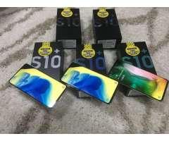 samsung S10 PLUS NUEVOS DE PAQUETE $1.060