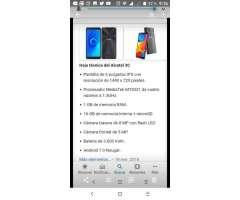 Alcatel 3c Personal con Huella 125 Usd
