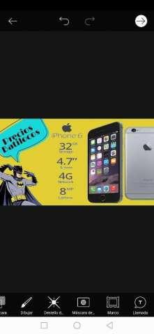 iPhone 6 de 32gb Nuevo Garantía 1 Año