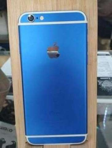 Vendo iPhone 6 Azul Como Nuevo