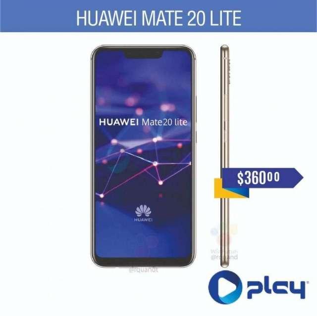 Celular Huawei Mate 20 lite