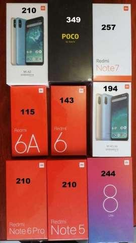 Xiaomi 6a Note 5 Mi A2 Note 6 Pro Mi 8 6