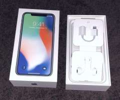 Vendo IPhone X 64 gb, color blanco con 6 cases, perfecto estado