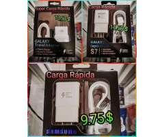 Cargadora Originale Samsung S7 S8 S9 S10