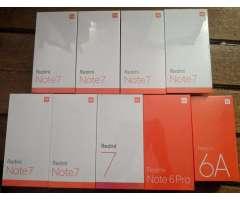 Xiaomi Redmi Note 7 64gb Y 128gb Nuevos