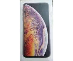 iPhone Xs Max 64gb Gold Totalmente Nuevo