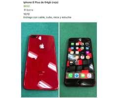 iPhone 8 Plus 64Gb (Rojo)