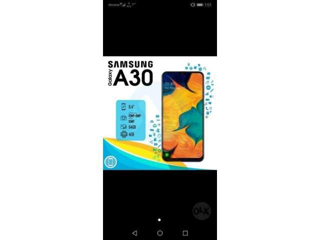 Vendo Samsung Galaxy A30 Y A10 de Paquet