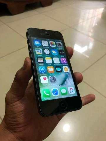 iPhone 5 16Gb Libre Solo Cel Precio Fijo