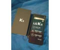 LG K9 NUEVO DE PAQUETE