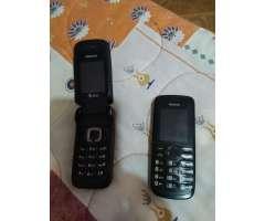 Vendo de Oportunidad Dos Teléfonos Nokia