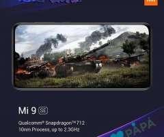 Celular Xiaomi Mi 9 se color negro 64gb/6gb de ram