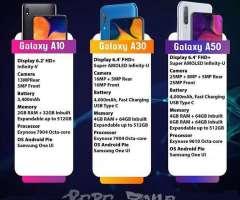 CELULAR SAMSUNG GALAXY A10- A20-A30-A50-A70-A80 GARANTIA LOCAL