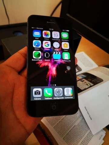 iPhone 5 16gb Todo Funcional con Su Caja
