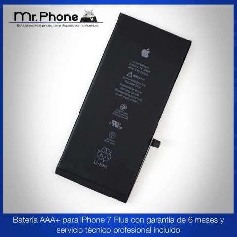 Batería iPhone 7 Plus Aaa Garantía De 6 Meses  Instalación