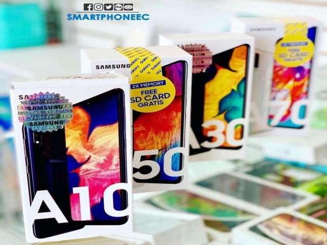 Samsung A10 A20 A30 A50 A70 A80 Estuche o MicroSd/Obsequio Garantia