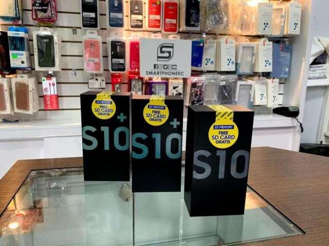 Samsung Galaxy S10 S10plus Nuevo con Garantía