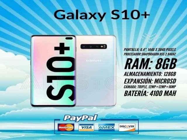 Samsung Galaxy S10 Plus. S10. S10e.