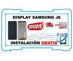 DISPLAY SAMSUNG J6 ORIGINAL. INSTALACION Y SERVICIO A DOMICILIO GRATIS