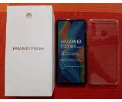 Huawei P30 Lite de 128gbs Nuevo Azul