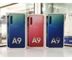 Samsung A9 2018 128gb 6gb Ran Sellados L